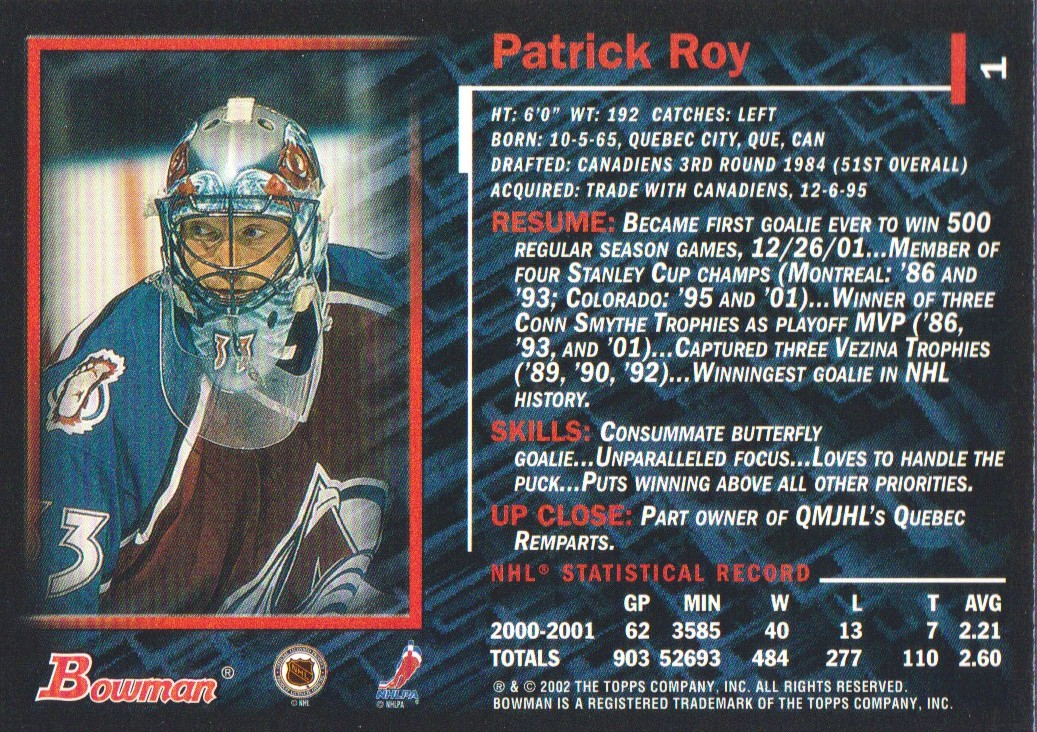 2001-02-Bowman-YoungStars-Ice-Cubed-Parallel-Hockey-Cards-Pick-From-List miniature 3