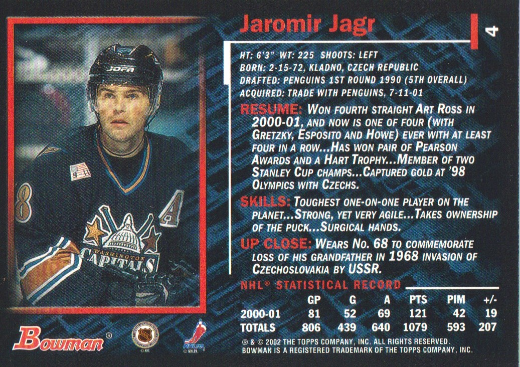 2001-02-Bowman-YoungStars-Ice-Cubed-Parallel-Hockey-Cards-Pick-From-List miniature 9
