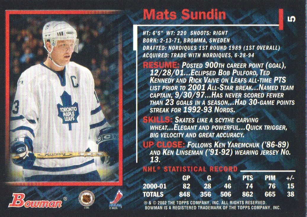 2001-02-Bowman-YoungStars-Ice-Cubed-Parallel-Hockey-Cards-Pick-From-List miniature 11