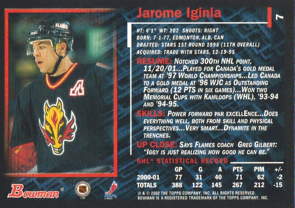 2001-02-Bowman-YoungStars-Ice-Cubed-Parallel-Hockey-Cards-Pick-From-List miniature 15