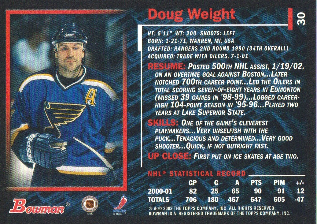 2001-02-Bowman-YoungStars-Ice-Cubed-Parallel-Hockey-Cards-Pick-From-List miniature 27