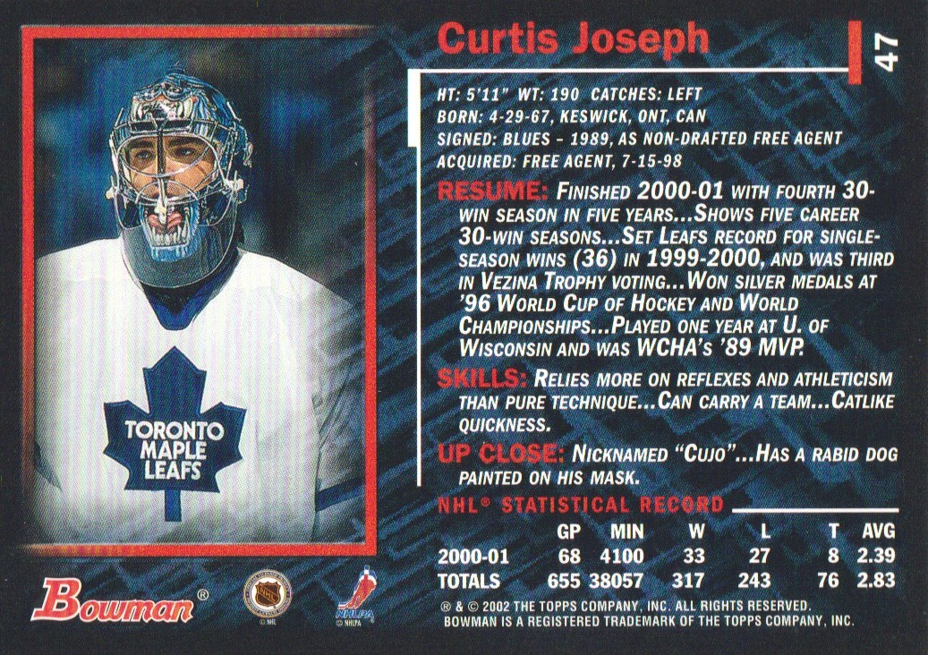 2001-02-Bowman-YoungStars-Ice-Cubed-Parallel-Hockey-Cards-Pick-From-List miniature 41