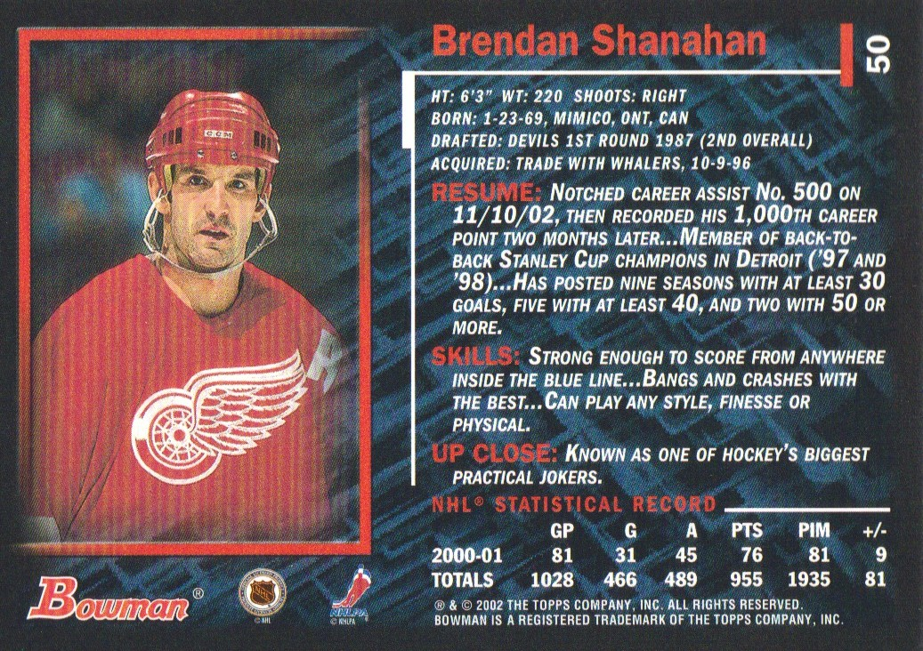 2001-02-Bowman-YoungStars-Ice-Cubed-Parallel-Hockey-Cards-Pick-From-List miniature 47