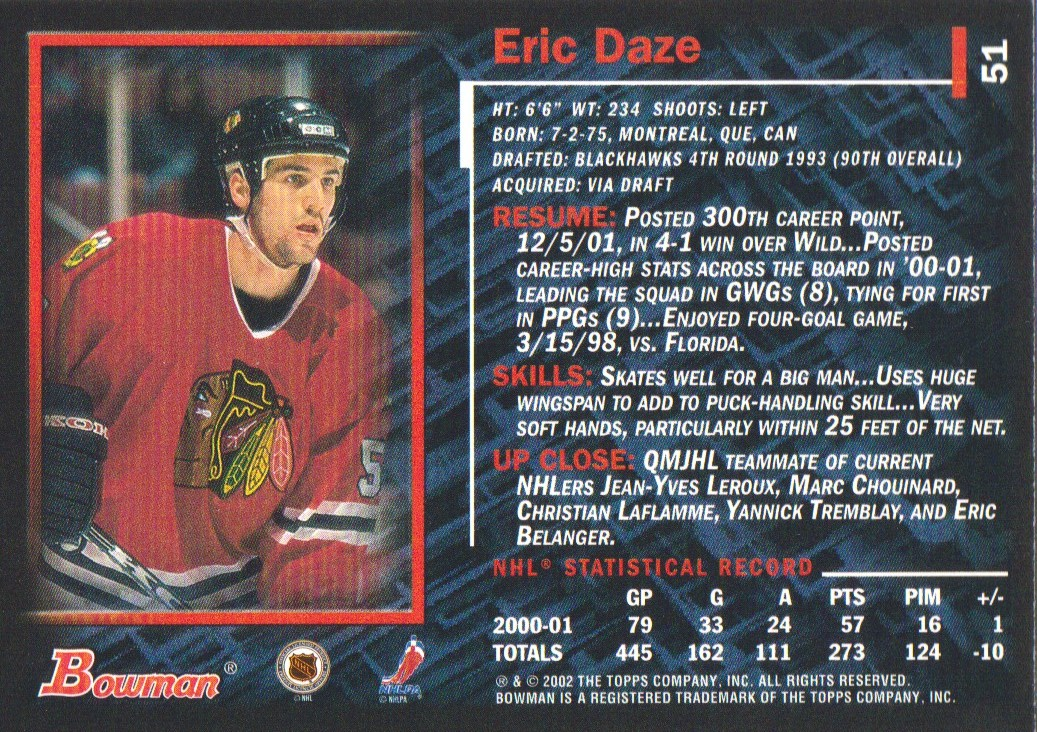 2001-02-Bowman-YoungStars-Ice-Cubed-Parallel-Hockey-Cards-Pick-From-List miniature 49