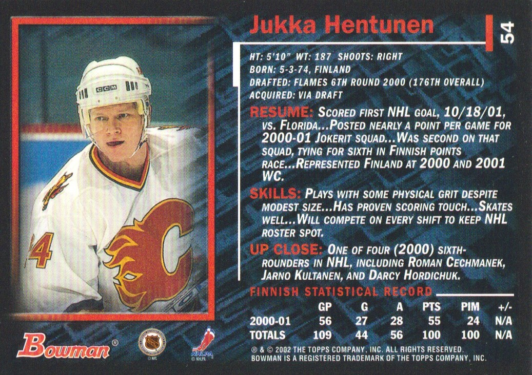 2001-02-Bowman-YoungStars-Ice-Cubed-Parallel-Hockey-Cards-Pick-From-List miniature 55