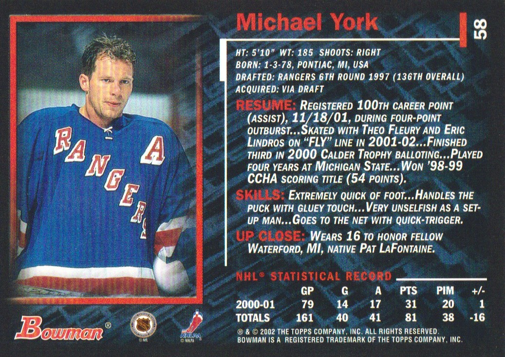 2001-02-Bowman-YoungStars-Ice-Cubed-Parallel-Hockey-Cards-Pick-From-List miniature 61