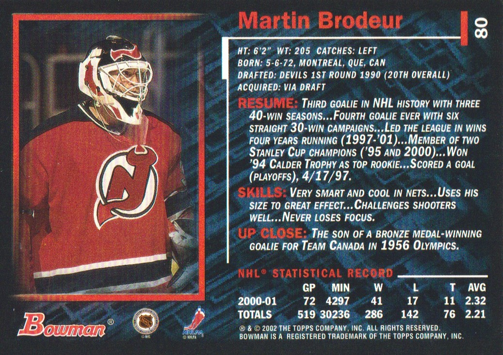 2001-02-Bowman-YoungStars-Ice-Cubed-Parallel-Hockey-Cards-Pick-From-List miniature 69