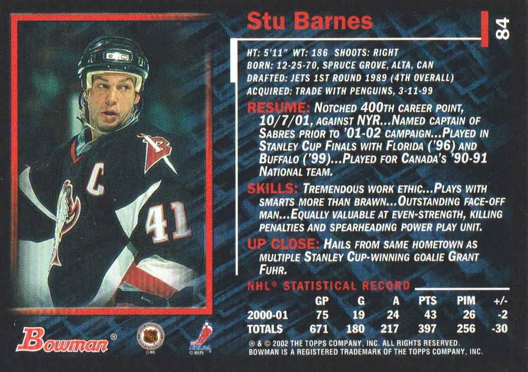 2001-02-Bowman-YoungStars-Ice-Cubed-Parallel-Hockey-Cards-Pick-From-List miniature 71