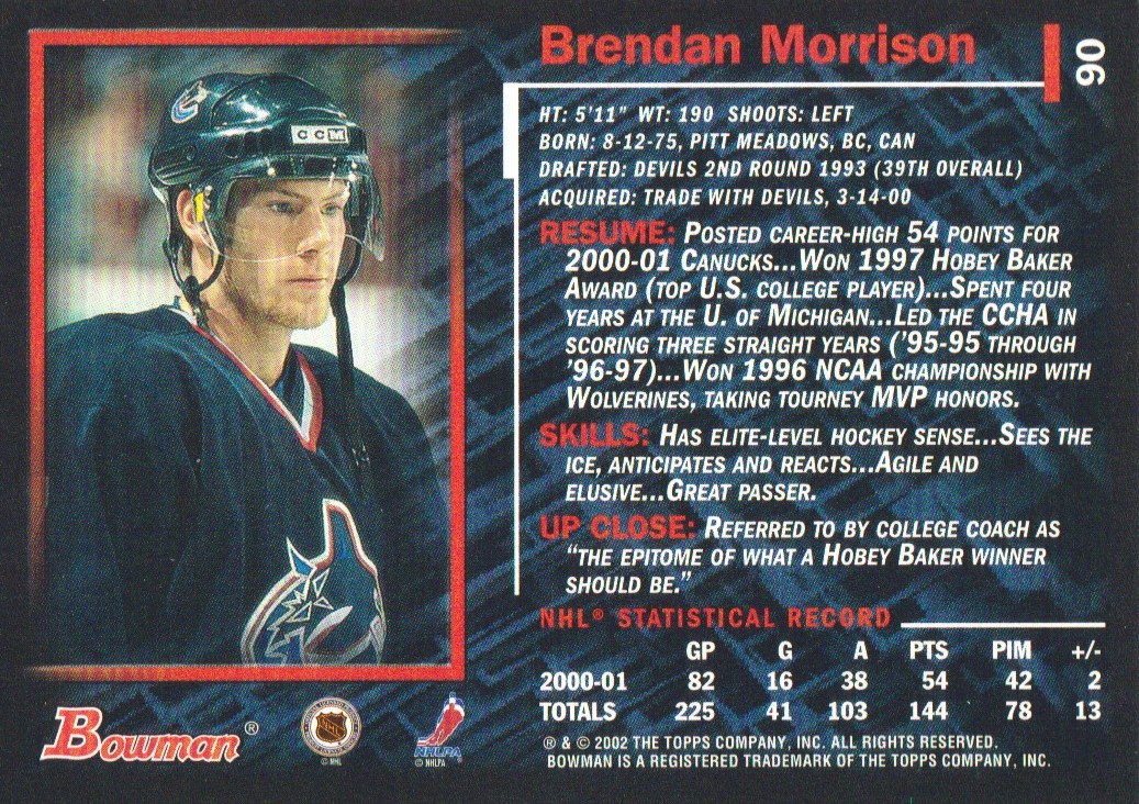 2001-02-Bowman-YoungStars-Ice-Cubed-Parallel-Hockey-Cards-Pick-From-List miniature 81