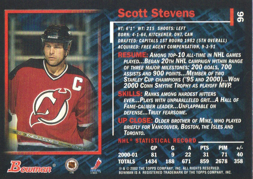 2001-02-Bowman-YoungStars-Ice-Cubed-Parallel-Hockey-Cards-Pick-From-List miniature 83