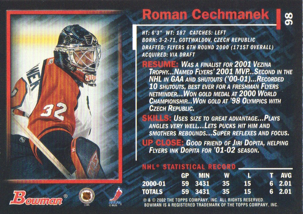 2001-02-Bowman-YoungStars-Ice-Cubed-Parallel-Hockey-Cards-Pick-From-List miniature 87