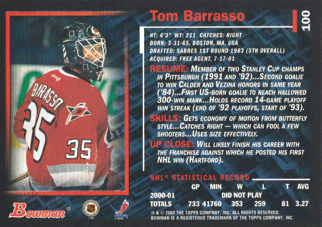 2001-02-Bowman-YoungStars-Ice-Cubed-Parallel-Hockey-Cards-Pick-From-List miniature 91