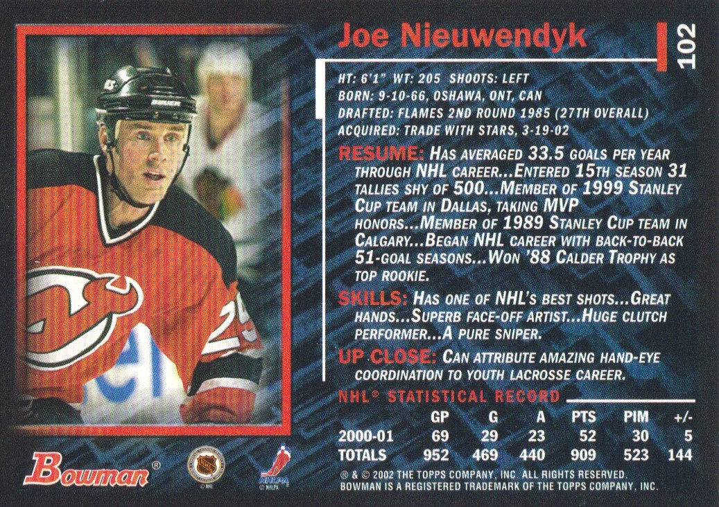 2001-02-Bowman-YoungStars-Ice-Cubed-Parallel-Hockey-Cards-Pick-From-List miniature 93