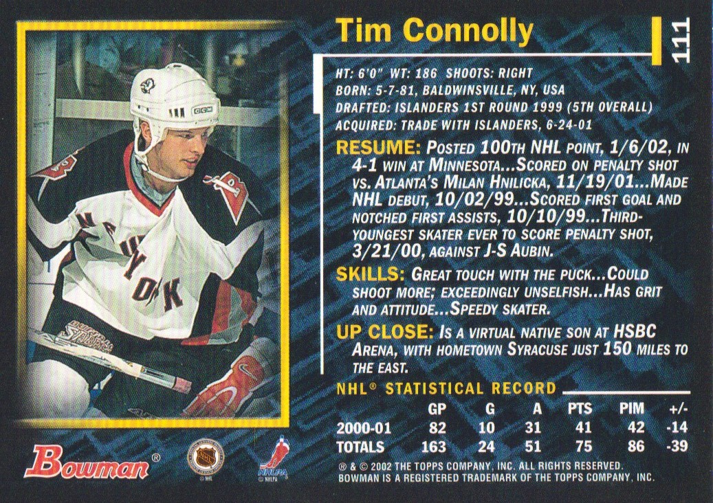 2001-02-Bowman-YoungStars-Ice-Cubed-Parallel-Hockey-Cards-Pick-From-List miniature 105