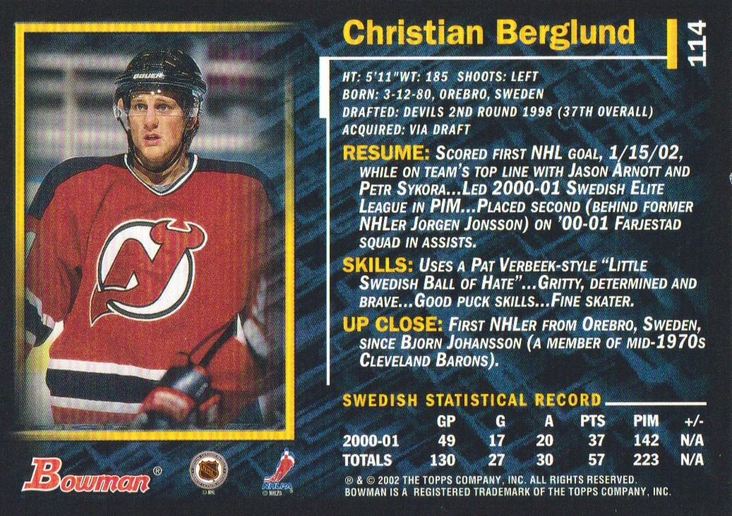 2001-02-Bowman-YoungStars-Ice-Cubed-Parallel-Hockey-Cards-Pick-From-List miniature 109