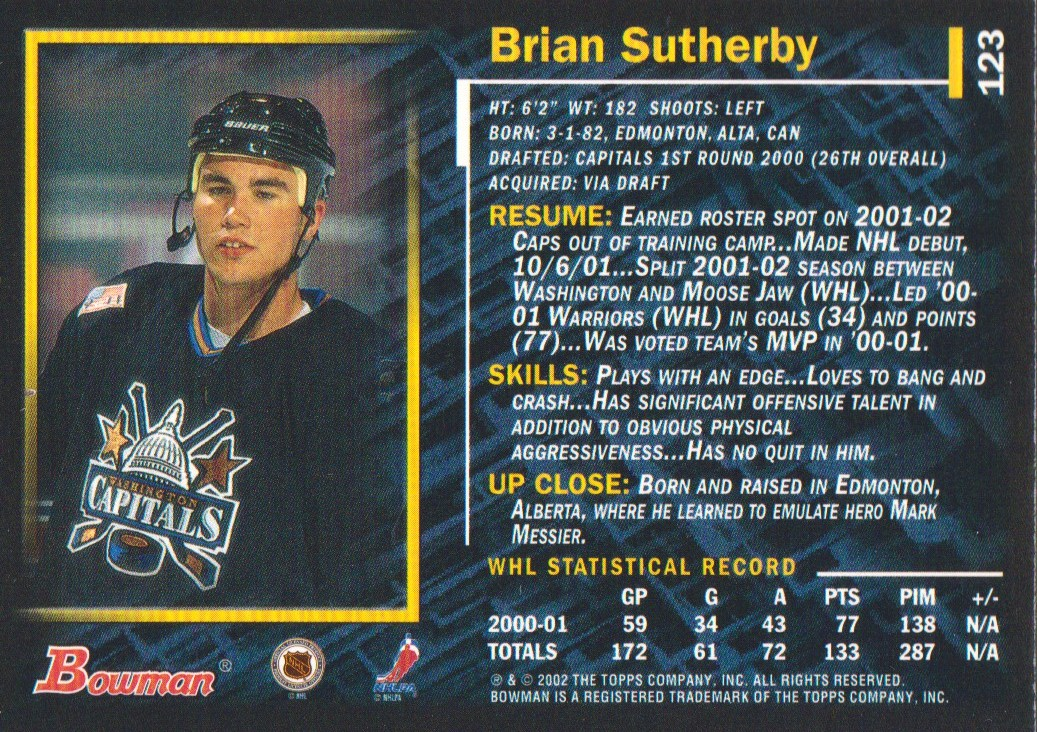 2001-02-Bowman-YoungStars-Ice-Cubed-Parallel-Hockey-Cards-Pick-From-List miniature 121