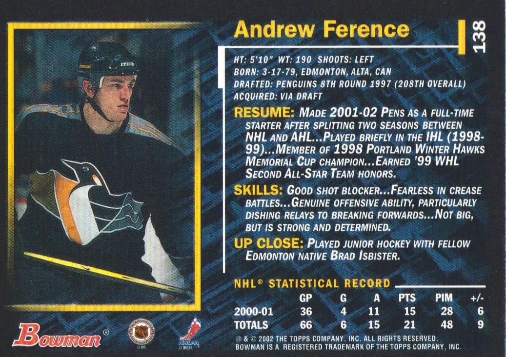 2001-02-Bowman-YoungStars-Ice-Cubed-Parallel-Hockey-Cards-Pick-From-List miniature 131