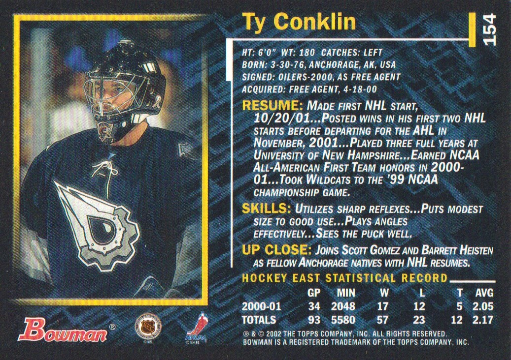 2001-02-Bowman-YoungStars-Ice-Cubed-Parallel-Hockey-Cards-Pick-From-List miniature 141