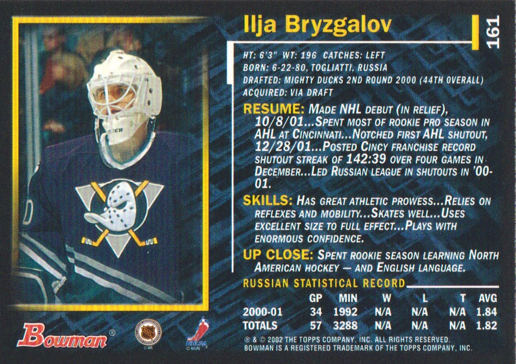 2001-02-Bowman-YoungStars-Ice-Cubed-Parallel-Hockey-Cards-Pick-From-List miniature 151