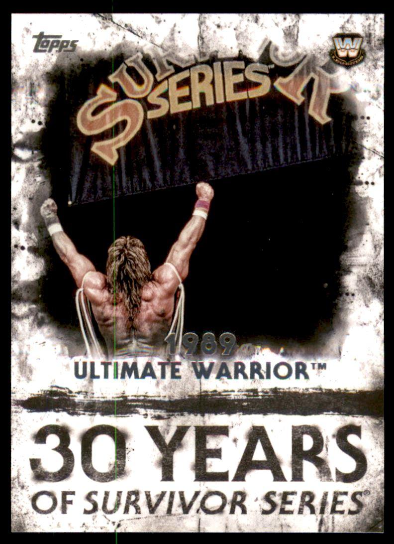 2017 Topps WWE Undisputed Wrestling #70 Ultimate Warrior