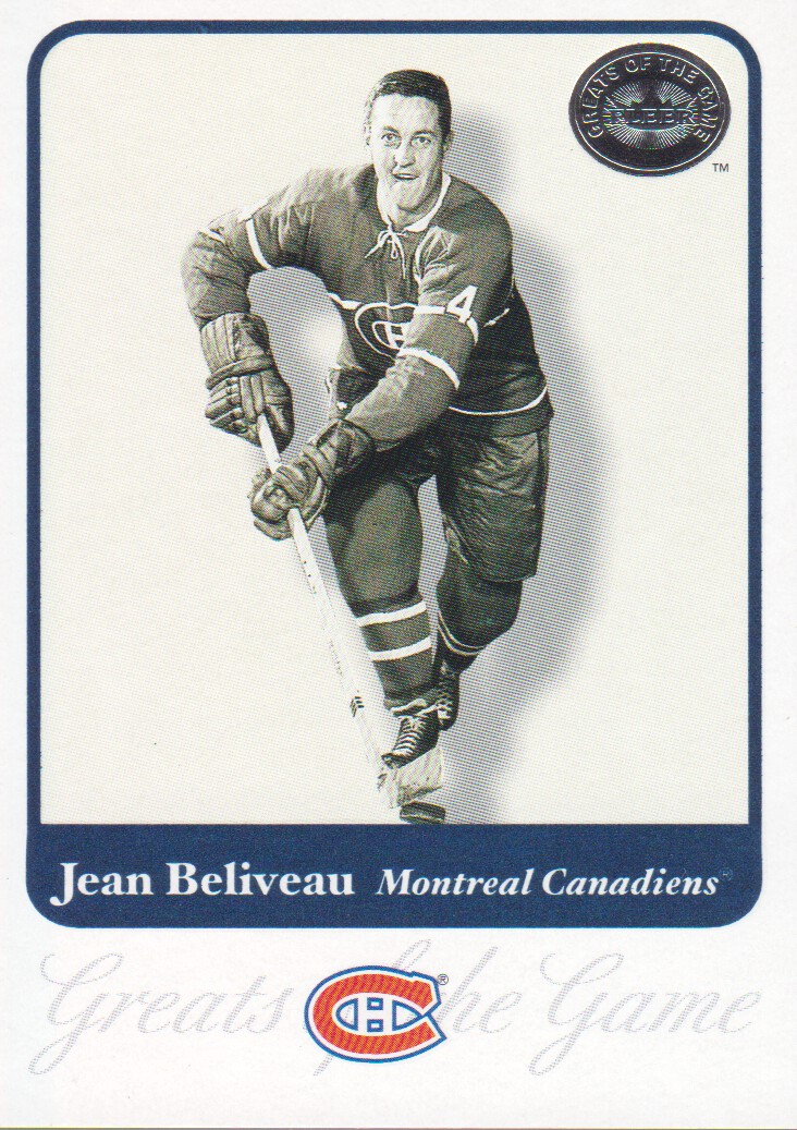 2001-02 Greats of the Game #3 Jean Beliveau
