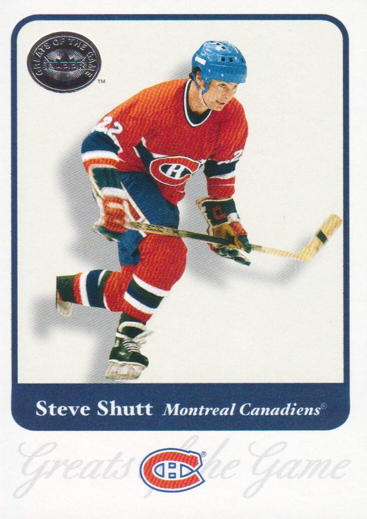 2001-02 Greats of the Game #12 Steve Shutt