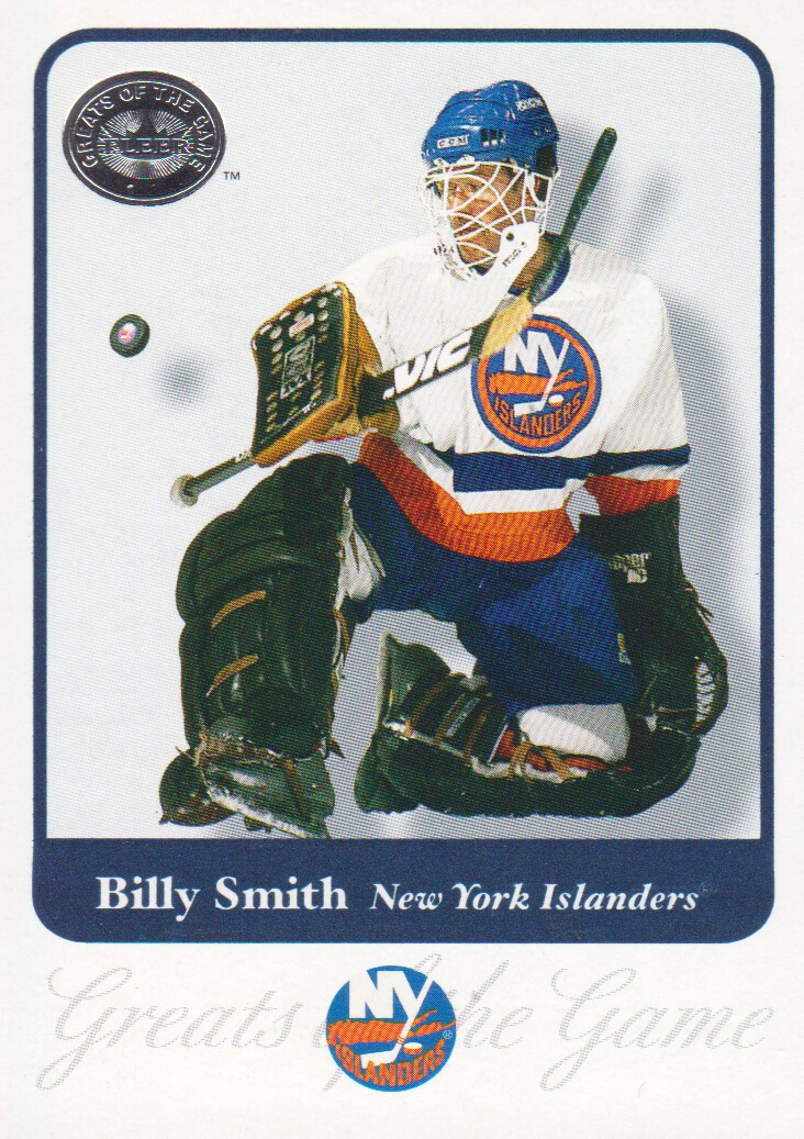 2001-02 Greats of the Game #17 Billy Smith