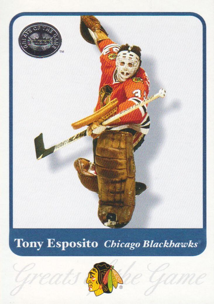 2001-02 Greats of the Game #19 Tony Esposito