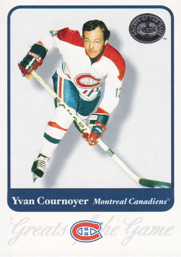 2001-02 Greats of the Game #25 Yvan Cournoyer