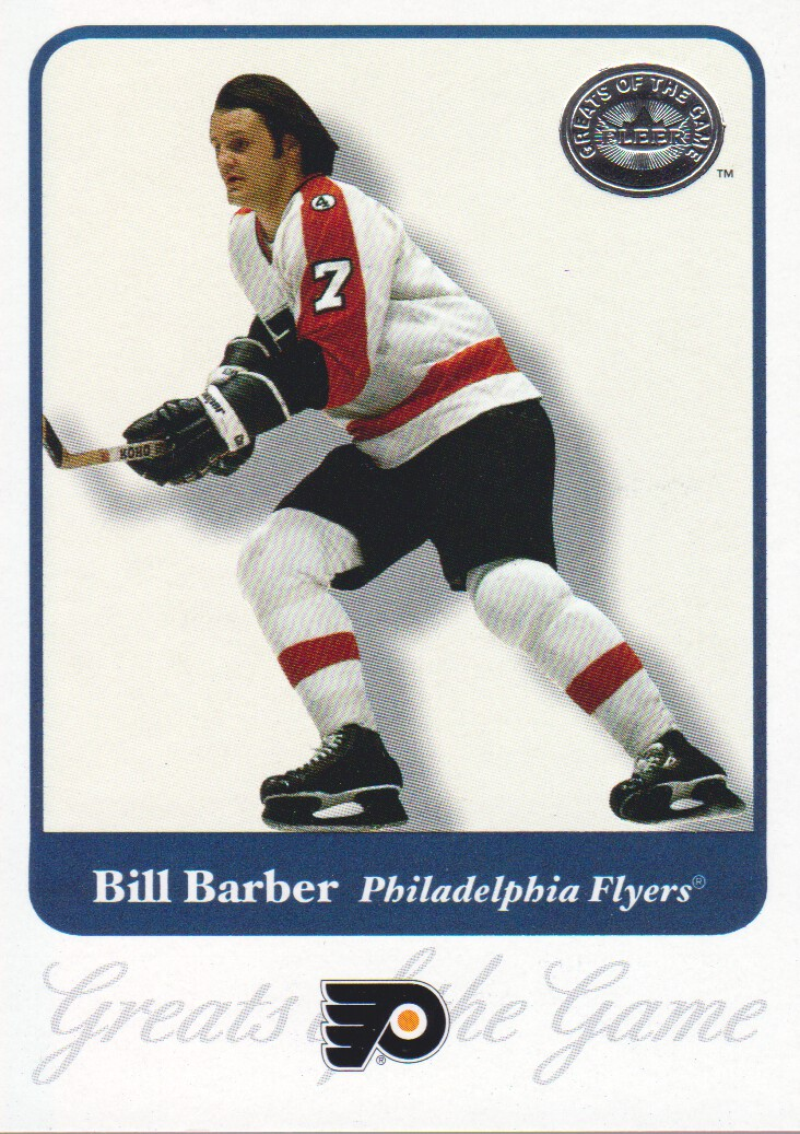 2001-02 Greats of the Game #38 Bill Barber
