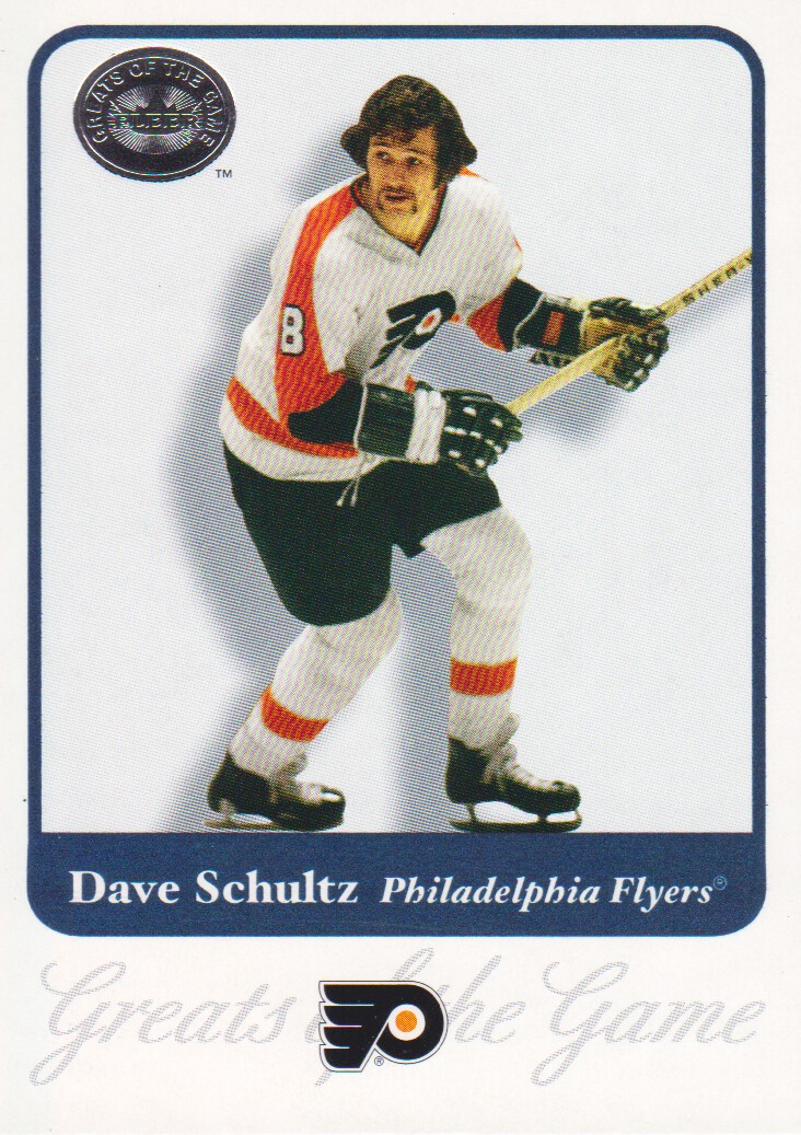 2001-02 Greats of the Game #45 Dave Schultz