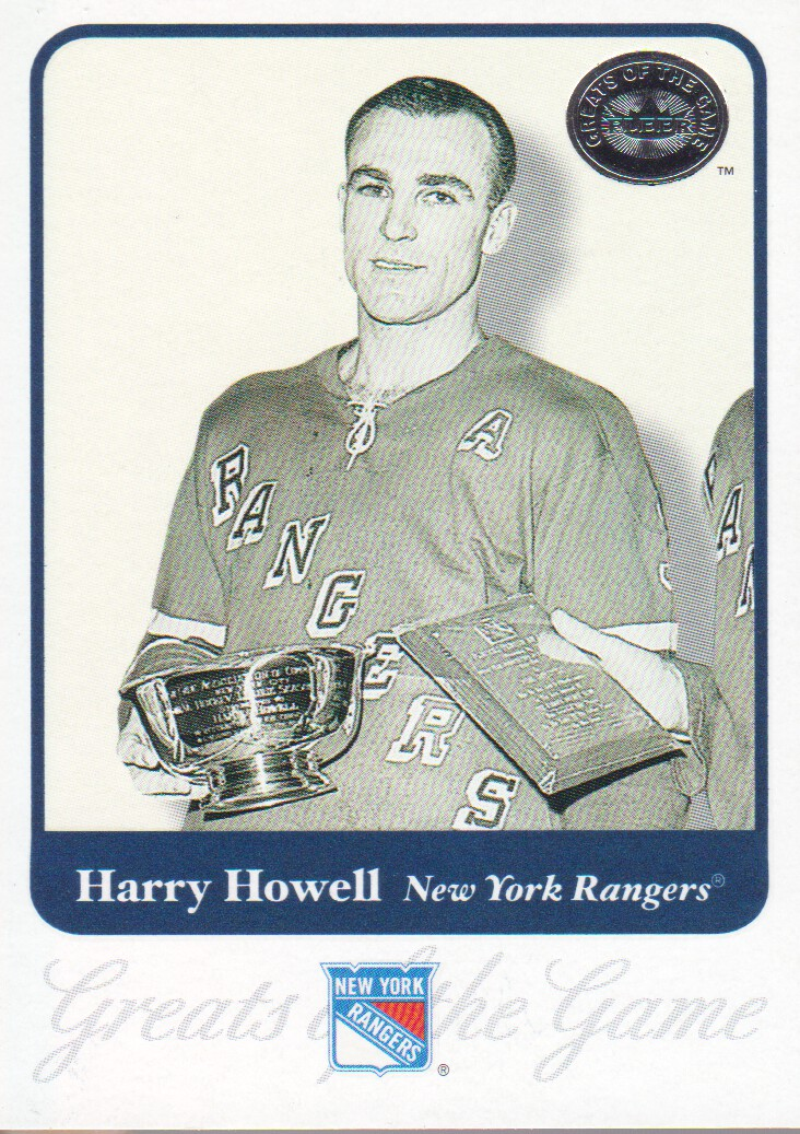 2001-02 Greats of the Game #58 Harry Howell