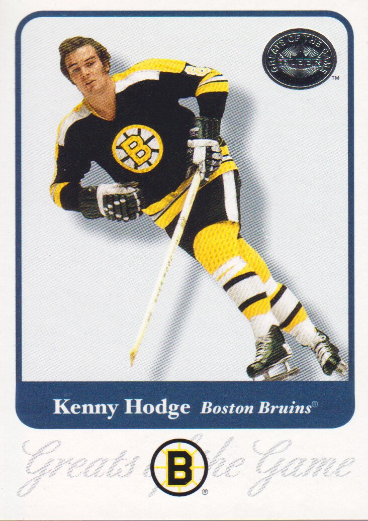 2001-02 Greats of the Game #67 Ken Hodge