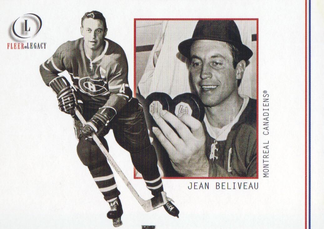 2001-02 Fleer Legacy #9 Jean Beliveau