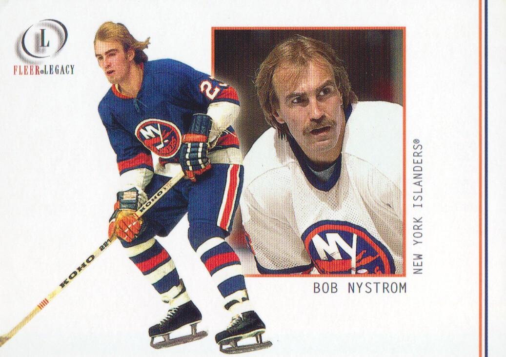 2001-02 Fleer Legacy #10 Bob Nystrom