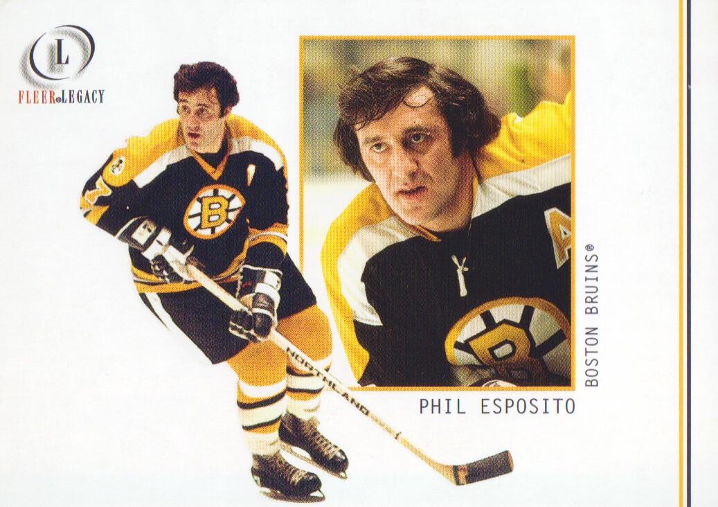 2001-02 Fleer Legacy #11 Phil Esposito