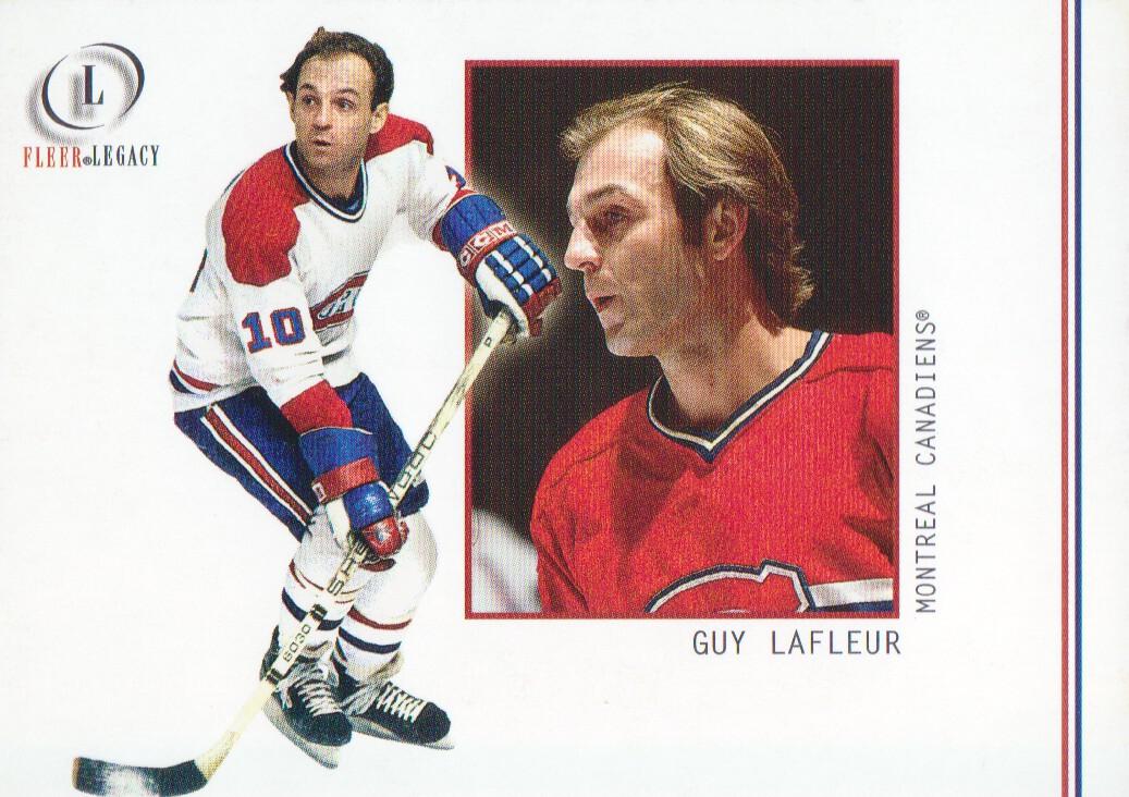 2001-02 Fleer Legacy #13 Guy Lafleur