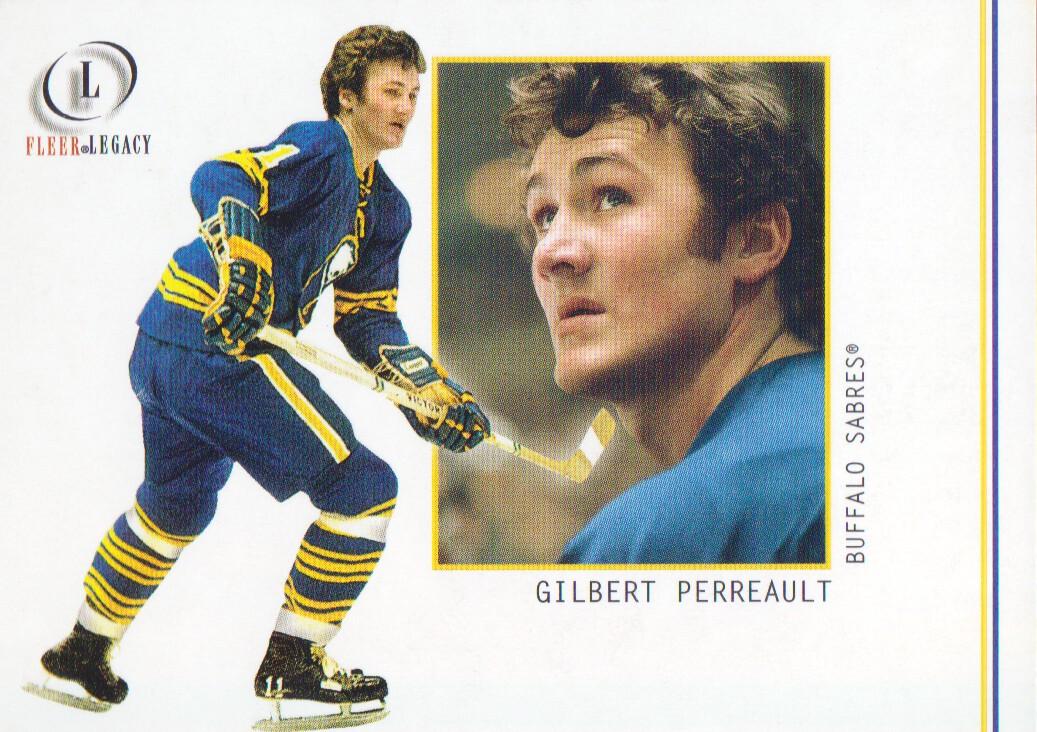 2001-02 Fleer Legacy #14 Gilbert Perreault