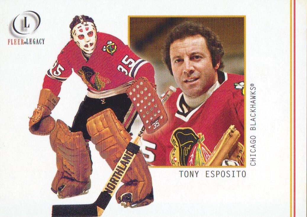 2001-02 Fleer Legacy #17 Tony Esposito
