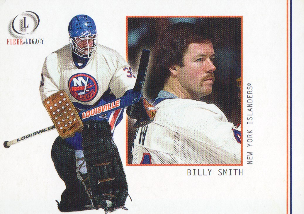 2001-02 Fleer Legacy #23 Billy Smith