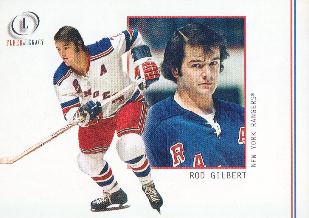 2001-02 Fleer Legacy #26 Rod Gilbert