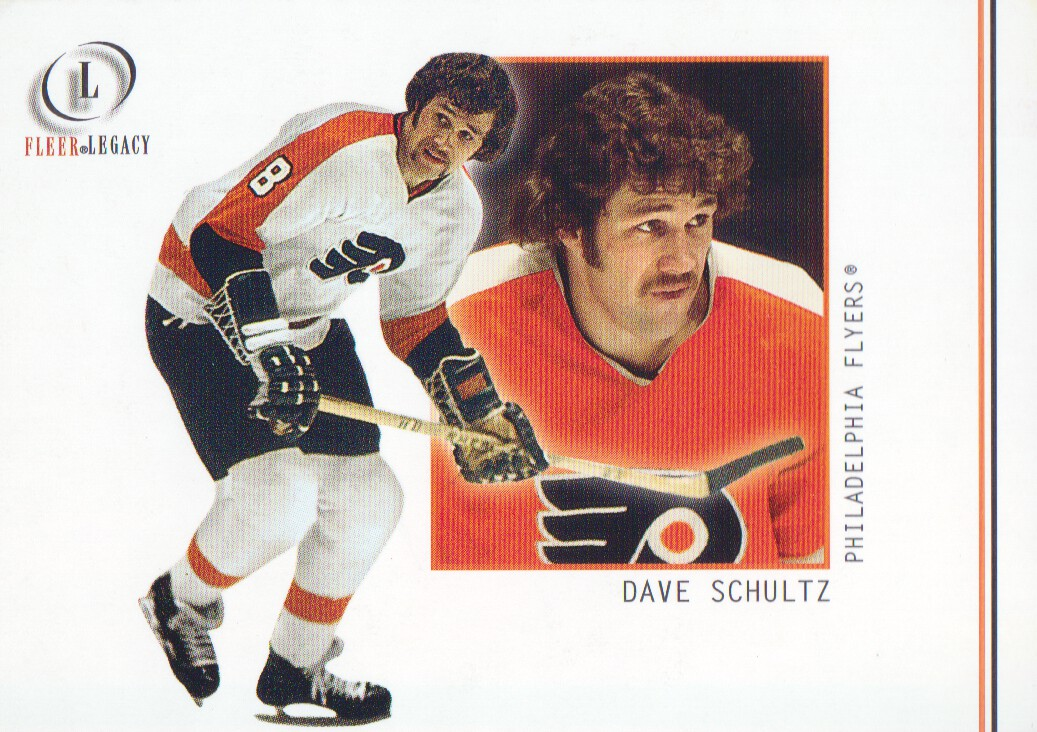 2001-02 Fleer Legacy #55 Dave Schultz