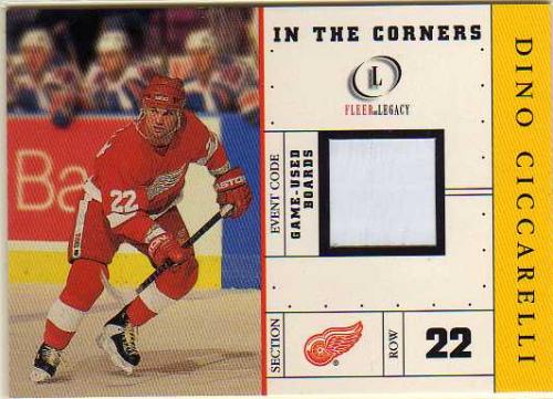 2001-02 Fleer Legacy In the Corners #1 Dino Ciccarelli