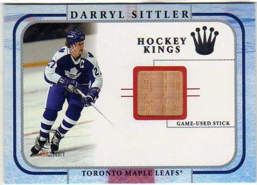 2001-02 Fleer Legacy Memorabilia #23 Darryl Sittler STK