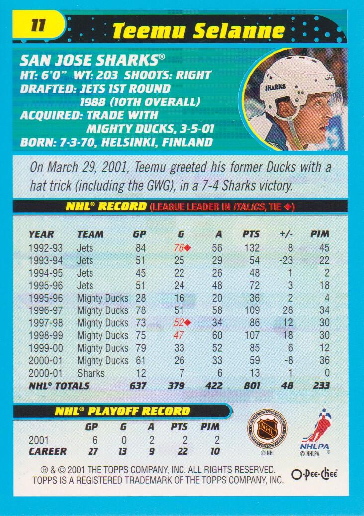 2001-02-O-Pee-Chee-OPC-Hockey-Cards-Pick-From-List thumbnail 5