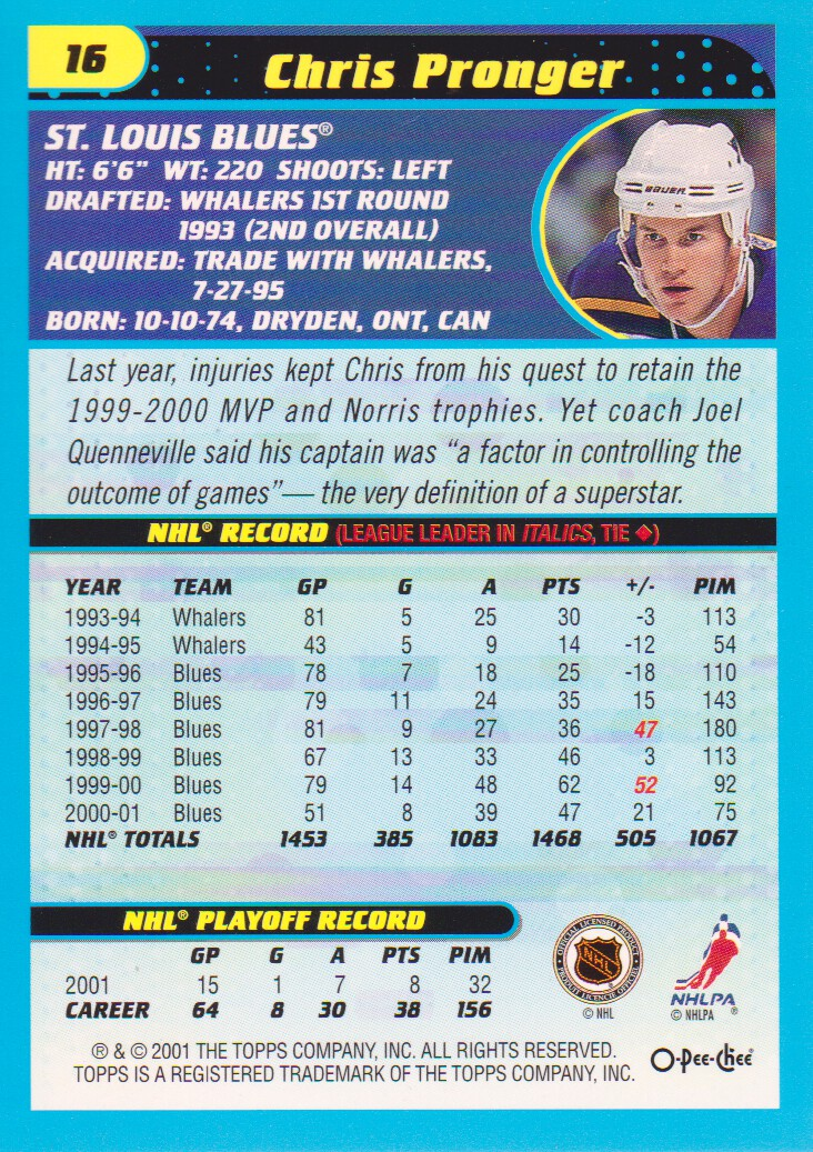 2001-02-O-Pee-Chee-OPC-Hockey-Cards-Pick-From-List thumbnail 7