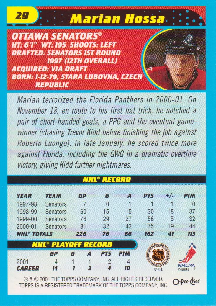 2001-02-O-Pee-Chee-OPC-Hockey-Cards-Pick-From-List thumbnail 13
