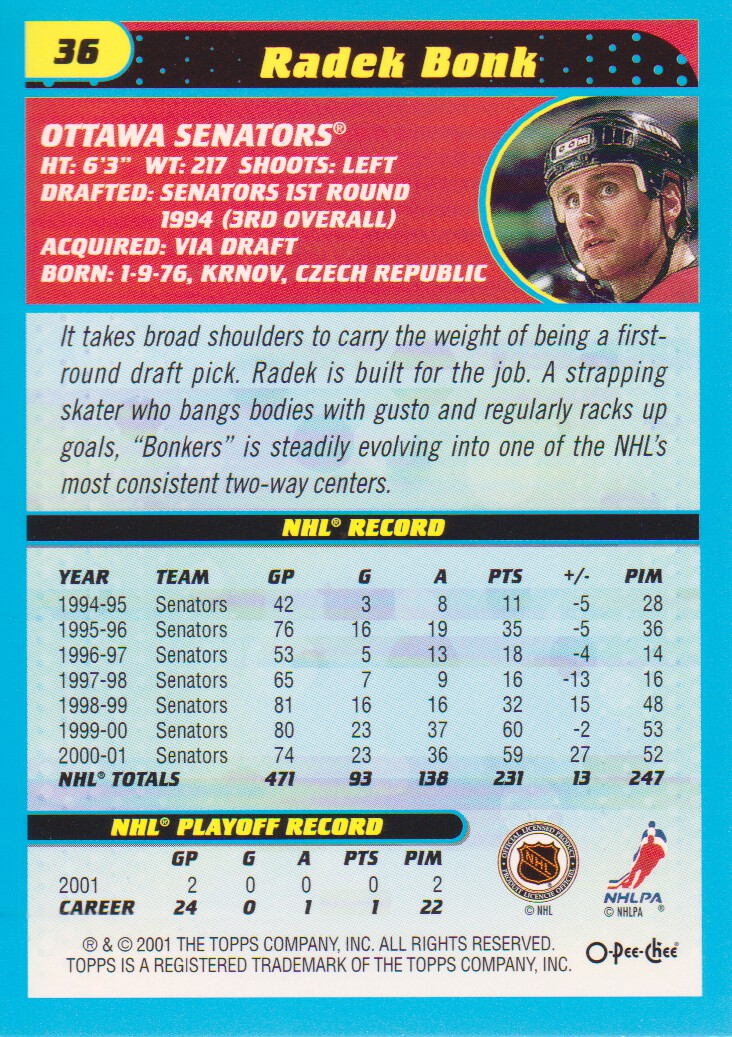 2001-02-O-Pee-Chee-OPC-Hockey-Cards-Pick-From-List thumbnail 15