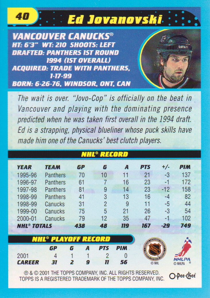 2001-02-O-Pee-Chee-OPC-Hockey-Cards-Pick-From-List thumbnail 17