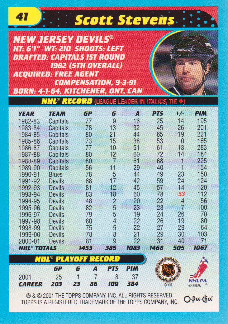 2001-02-O-Pee-Chee-OPC-Hockey-Cards-Pick-From-List thumbnail 19
